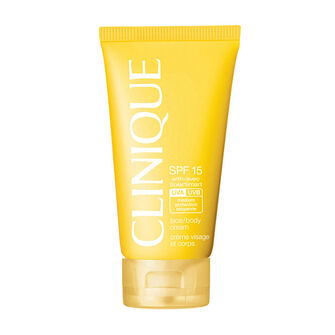 Clinique Solar Smart SPF15 Face & Body Cream150ml, , large