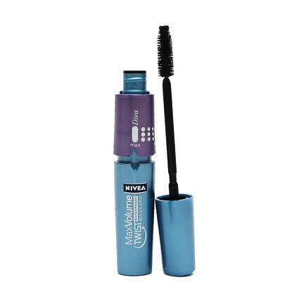 Nivea Max Volume Twist Diva Waterproof Mascara Black 11 7ml, , large
