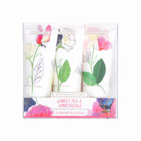 Heathcote and Ivory Sweet Pea & Honeysuckle Hand Nail Cream, , large