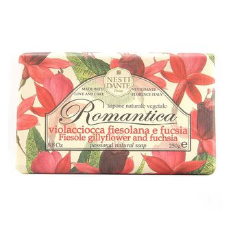 Nesti Dante Romantica Fiesole Gillyflower and Fuchsia Soap, , large