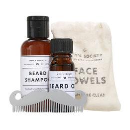 Men's Society Beard Washing Kit, , large