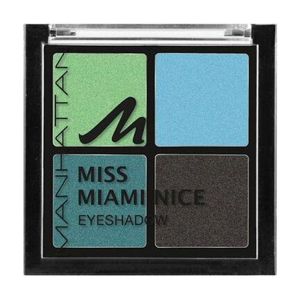 Manhattan Miss Miami Nice Eyeshadow Quad, , large