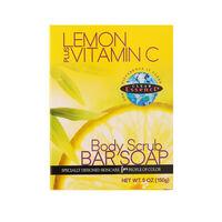 Clear Essence Lemon Plus vitamin C body Scrub Bar Soap 150ml, , large
