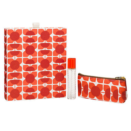 Orla Kiely Square Flower  Geranium Purse Spray Gift Set, , large