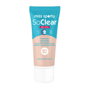 Miss Sporty SoClear Anti Spot Foundation 30ml, , large
