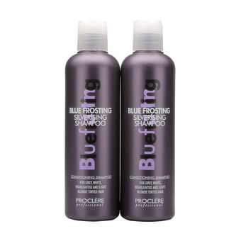 Proclere Blue Frosting Silverising Shampoo Twin Pack 250ml, , large