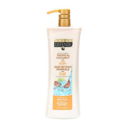 Daily Defense Body Wash Tropical Coconut 946ml, , large