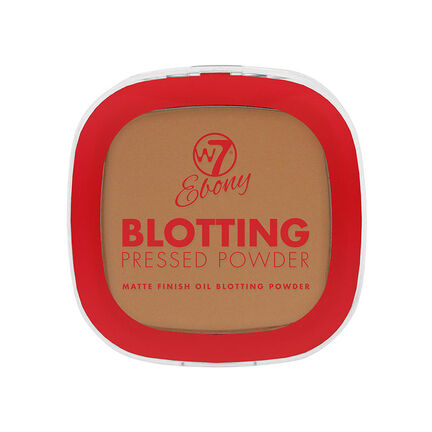 W7 Ebony Blotting Matte Finish Compact Powder 7g, , large