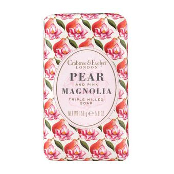Crabtree & Evelyn Pear & Pink Magnolia Soap 158g, , large