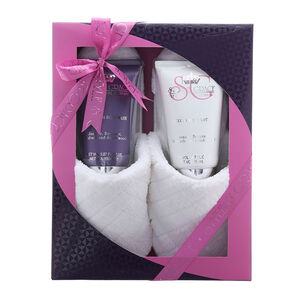 Style & Grace Rest and Relaxation Slipper Gift Set 150ml, , large