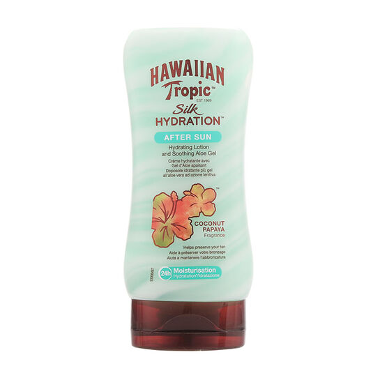 Hawaiian Tropic Silk Hydration Aftersun Coconut Papaya 180ml, , large