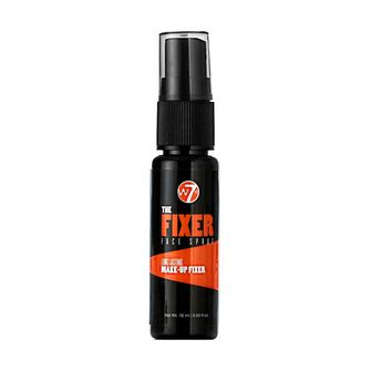W7 The Fixer Make Up Face Spray 18ml, , large