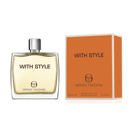 Sergio Tacchini With Style For Men EDT Spray 100ml, , large