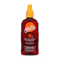 Malibu Sun Dry Oil Spray SPF 6 200ml, , large