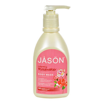 Jason Invigorating Rosewater Body Wash With Pump 887ml, , large