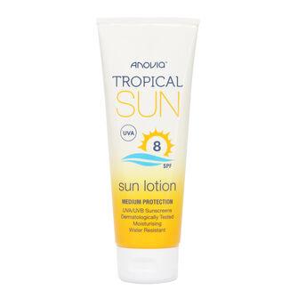 Anovia Tropical Sun SPF8 Sun Lotion 100ml, , large