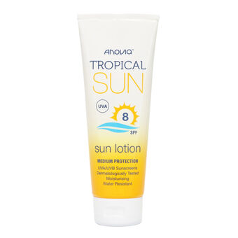 Anovia Tropical Sun SPF8 Sun Lotion 100ml, , large