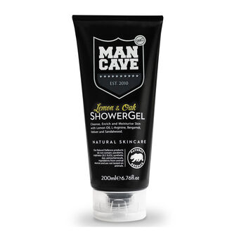 ManCave Lemon & Oak Shower Gel 200ml, , large