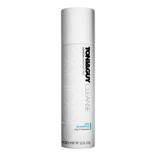 Toni & Guy Cleanse Dry Shampoo 250ml, , large