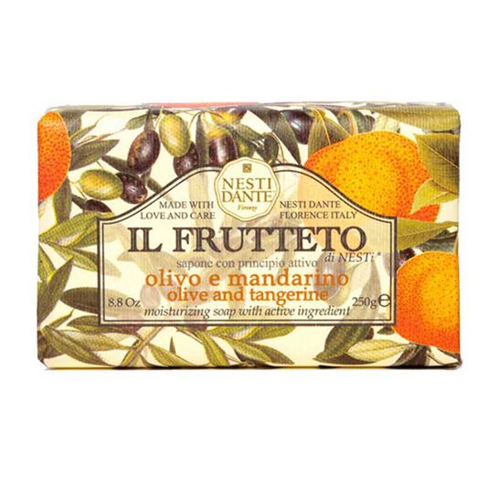 Nesti Dante Ill Fruetto Olive and Tangerine Soap 250g, , large