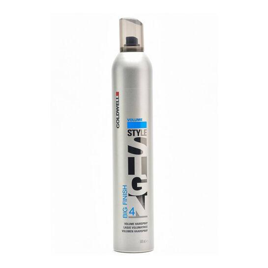 Goldwell Style Sign Big Finish 4 Volume Hairspray 500ml, , large