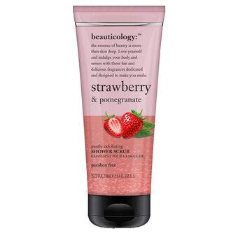 Baylis & Harding Beauticology Strawberry Shower Scrub 250ml, , large