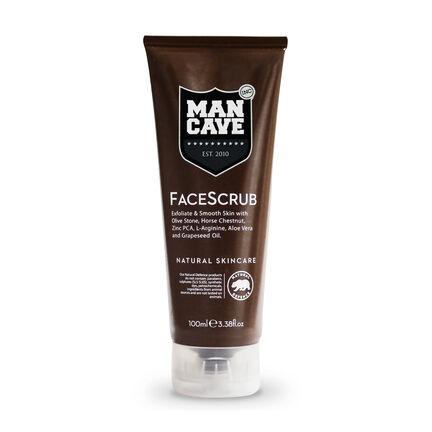 ManCave Olive Stone Face Scrub 100ml, , large
