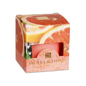 Heart & Home Votive Candle Pink Grapefruit & Cassis 57g, , large
