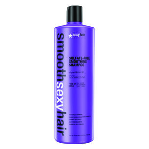 Sexy Hair Smooth Sulphate Free Anti Frizz Shampoo 1000ml, , large