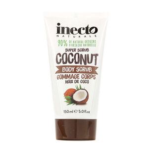 Inecto Naturals Coconut Body Scrub 150ml, , large
