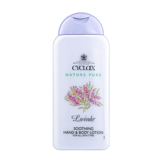 Cyclax Lavender Soothing Hand & Body Lotion 300ml, , large