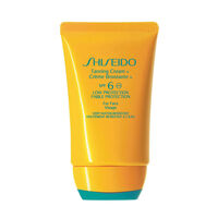 Shiseido Anti-Aging Suncare Tanning Cream Face SPF6, , large