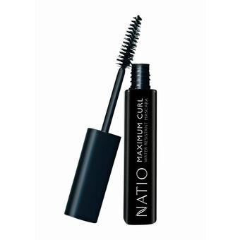 Natio Cosmetics Maximum Curl Mascara Blackest Black 10ml, , large