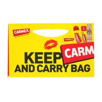 Carmex Keep Carm & Carry Bag 4 Pieces Gift Set, , large