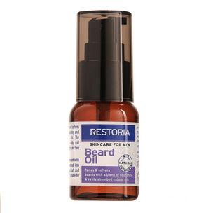 Restoria Skincare For Men Beard Oil 30ml, , large