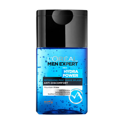 L'Oréal Men Expert Hydra Power Post Shave Splash 125ml, , large