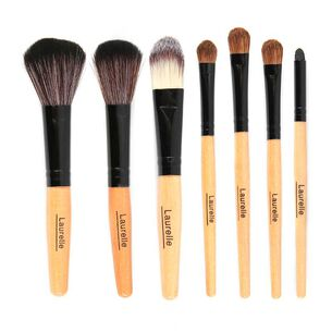 Laurelle 7 Piece Professional Make Up Brush Kit, , large