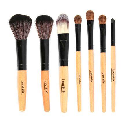 Laurelle 7 Piece Professional Make Up Brush Kit, , large