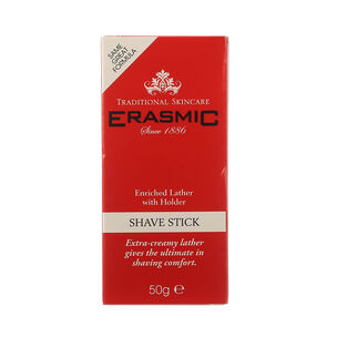 Erasmic Shaving Stick 50g, , large