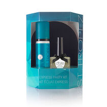 St Tropez Express Nail Polish & Mitt Party Kit Gold, , large