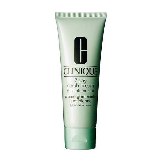 Clinique 7 Day Scrub Cream Rinse Off Formula 100ml, , large