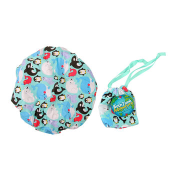 Bath Time Adventures Polar Animals Shower Cap Polar Bear, , large