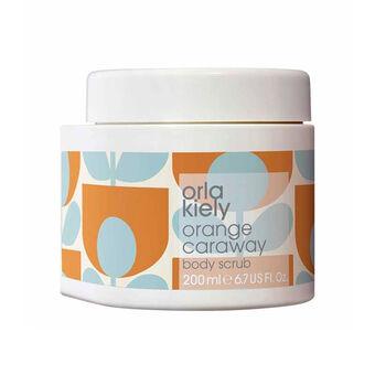 Orla Kiely Orange Caraway Body Scrub 200ml, , large