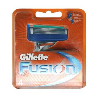 Gillette Fusion Blades 4 Pack, , large