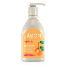 Jason Glowing Apricot Body Wash With Pump 887ml, , large