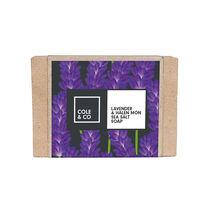 Cole & Co Lavender & Halen Mon Sea Salt Soap 80g, , large