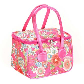 Royal Oriental Bloom Vanity Bag, , large