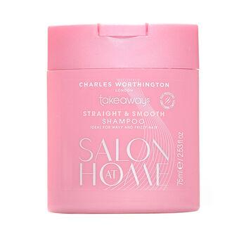 Charles Worthington Straight & Smooth Shampoo 75ml, , large
