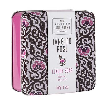 Scottish Fine Soaps Tangled Rose Luxury Soap 100g, , large