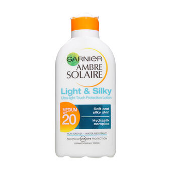 Garnier Ambre Solaire Light & Silky Protection Lotion SPF20, , large